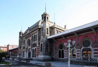 La gare de Sirkeci à Istanbul, terminus de l'Orient-Express