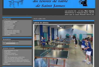 Le blog du tennis de table