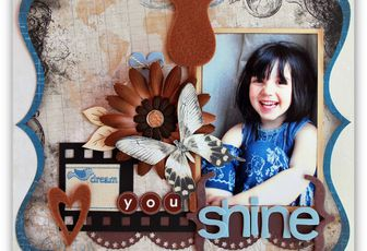 Jean, chocolat et Moments Scrapbooking n°8