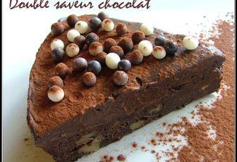 Gâteau double saveur chocolat, un délice de P.Hermé