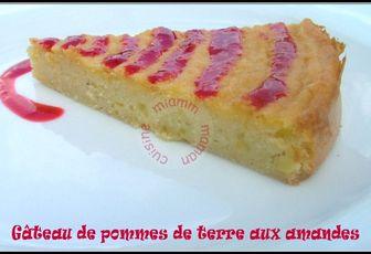Gâteau moelleux aux amandes &... pommes de terre