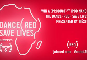 Tiësto Gift: win One (PRODUCT) RED iPod nano pre-loaded