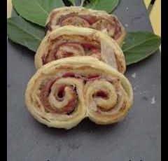 palmier jambon fromage