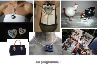 Vente à l'Atelier ce week end