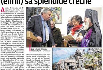 16ème crèche d'Arlette Berthelot au Relais Culturel des Saintes Maries