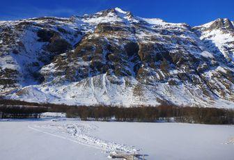 Plongée sous glace : un nouveau site en Haute Maurienne