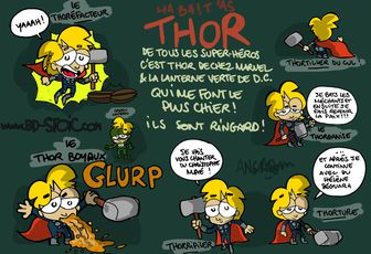 Thor et à travers !