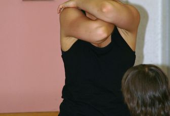 Photos des cours de danse contemporaine enfants