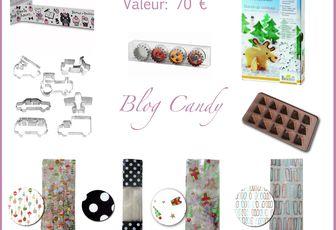 Blog Candy ou comment gagner de jolis articles...