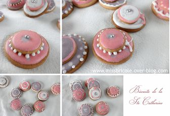 Biscuits pour les Catherinettes...