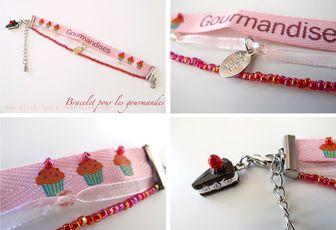 DIY: Un bracelet pour les gourmandes!