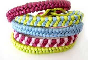 DIY: Bracelets Fishtail...