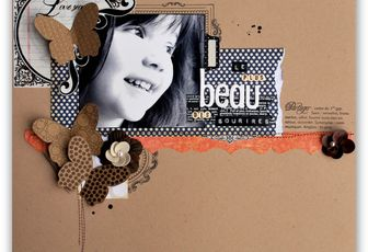 Pages en Es[Kiss] Design et Papiers de Pandore