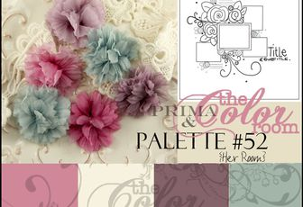 Happy anniversary! The Color Room, palette 52!