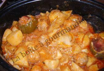 Pommes de terre en ragoût de fenouil & courgettes pour Patat'à gogo