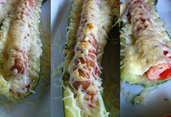 Hot dog de courgettes