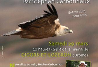 """Conférence d'Artzamendi : """"Le besoin du sauvage dans nos sociétés modernes"""", à Gigors-et-Lozeron, Drôme, samedi 29 mars 2014"""