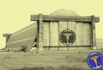 le hangar de la LAZOUTTE AIR COMPANY