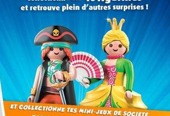 du PLAYMOBIL dans ta Magic Box chez QUICK