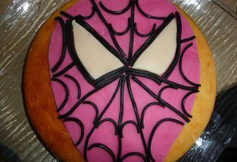 GATEAU SPIDERMAN