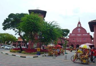 Rencontre avec la belle coloniale : Malacca !