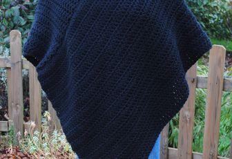 Mon poncho d'hiver !