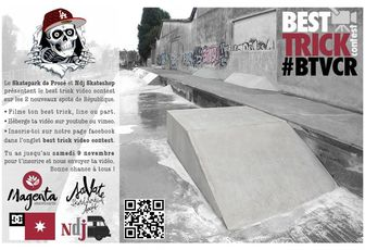 Best Tricks Video Contest République !