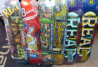 Real Skateboad , anti-hero, ....fresh stuff !
