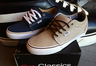 VANS Chukka low, Era Pro and Authentic !
