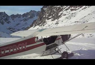 My Super Cub and I Went Skiing