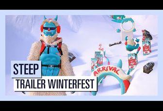 ACTUALITE : #Winterfest, le nouveau #DLC de #Steep est disponible