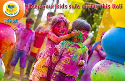 Keep your kids safe during this Holi