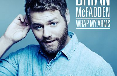 Brian McFadden Wrap My Arms Official Single Cover