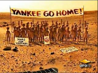 Mars : la photo que nous cache les yankees !
