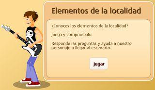 La localidad- Conocimientos, actividades y juegos interactivos