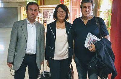 Des élus français dans le Donbass.   Première représentation française  de la République Populaire de Donetsk