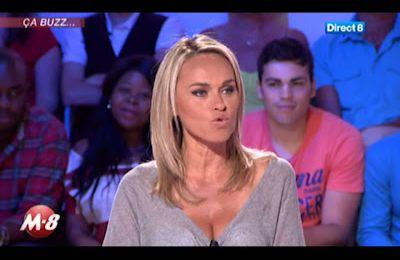 [2012 07 04] CECILE DE MENIBUS - DIRECT 8 - MORANDINI @19H15