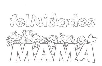 Tarjetas para colorear del Día de la Madre