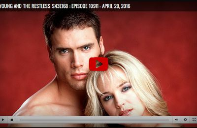 The Young and the Restless Season 43 Episode 168 Episode 10911 - April 29, 2016