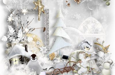 New!!! Dream of a white christmas + Bundle Products by saskia's design