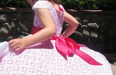 robe vintage pour fillette (tutoriel gratuit - DIY)