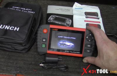 How to use Launch CRP Touch Pro diagnose Ford Focus