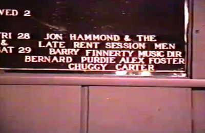 Mikell's NYC Film From Jon Hammond July 28, 1989