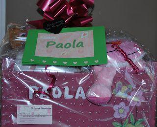 Canastilla de Nacimiento para Paola