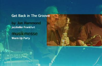 Get Back In The Groove Jon Hammond Band