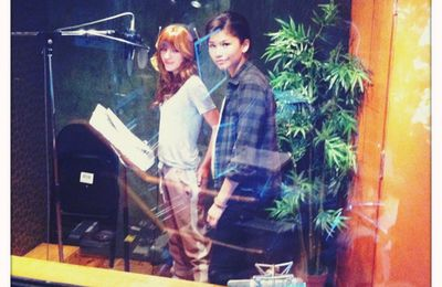 "Bella Thorne & Zendaya grabando ""Shake It Up: Break It Down"""