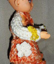vétement crocheter pour poupées