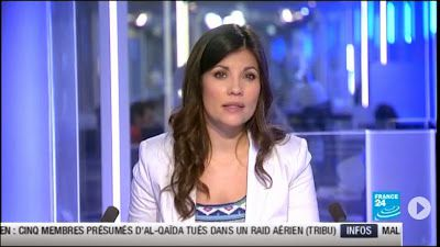2013 06 10 - ELISABETH ALLAIN - FRANCE 24 - PARIS DIRECT @06H37