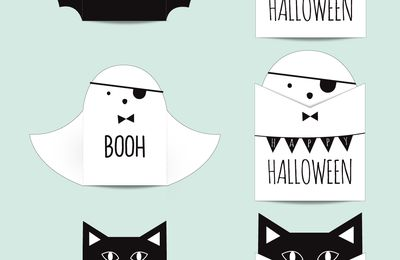 cartes Halloween (tutoriel gratuit - DIY)