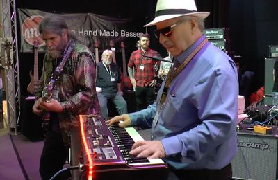 Tec Amp THC Amplification Musikmesse Session Jon Hammond & Joe Berger